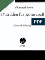 storch - 57 etüden für kontrabass