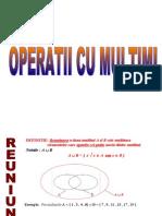0operatii Cu Multimi