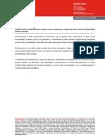 Finmeccanica quarto anno consecutivo negli indici Dow Jones Sustainability