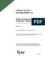 Política de Segurança da Informação - Diretrizes Gerais