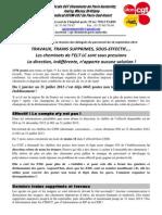 Compte Rendu CGT ELT LC DP Du 16 09 13