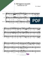 W.A.Mozart - Mi lagnerò tacendo KV 437