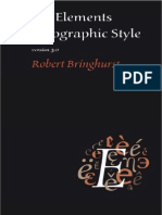 Bringhurst, Robert - The Elements of Typographic Style