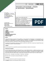 ABNT NBR 10520 Citações em documentos
