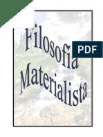 FILOSOFIA MATERIALISTA