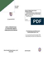 Rolul Actorilor Statali in Configurarea Mediului International de Securitate