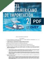 ARANCEL CENTROAMERICANO DE IMPORTACIÓN 2013