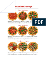 Pizza Tycoon Recipe Book