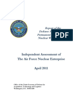Independent Assessment of the Air Force Nuclear Enterprise