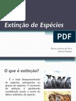 Extinção de Espécies