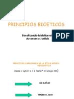 3 PRINCIPIOS BIOETICOS