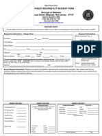 Matawan OPRA Request Form
