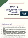 lindsey dickerson instrcutional plan