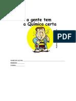 Apostila de aula prática - Química Orgânica