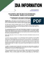 WBC World Cup on FOX Sports Nets.pdf