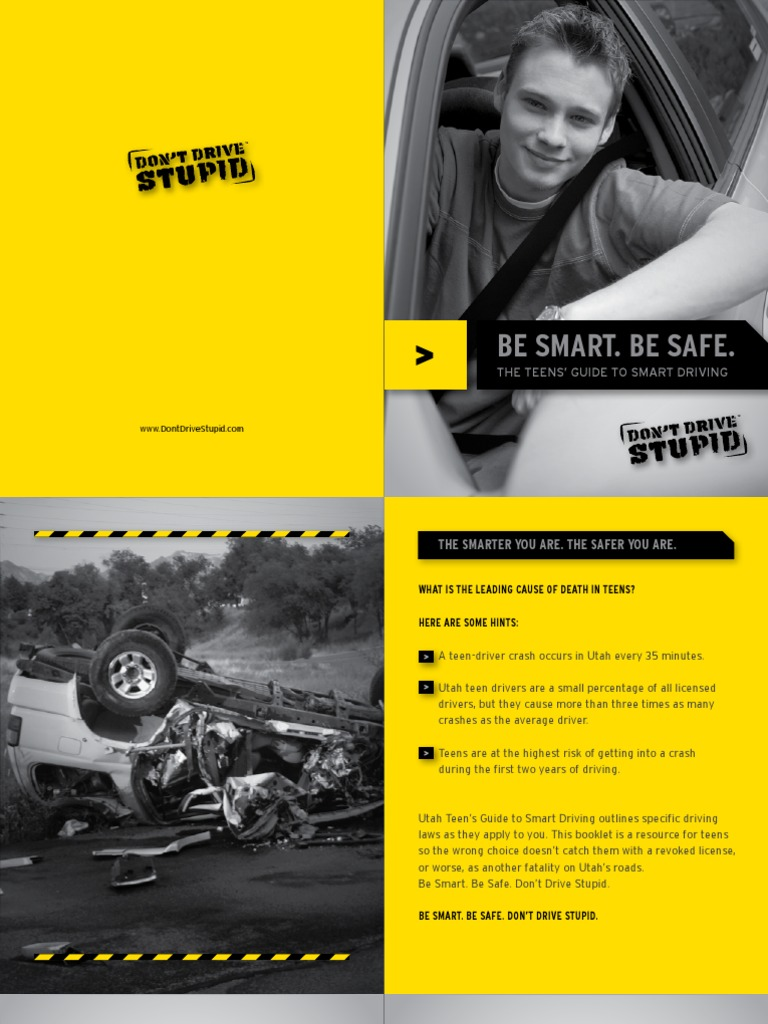 Teen Smart Driving >> Be Smart Be Safe The Teens Guide To Smart Driving