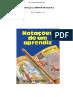 Nota+º+Áes de Um Aprendiz (Hernani T. Sant-¦Anna)
