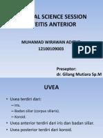 Css Uveitis Anterior (m. Wirawan a.)