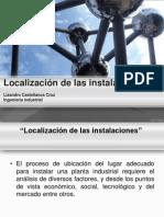 Unidad 1 Localizacion de Las Instalaciones
