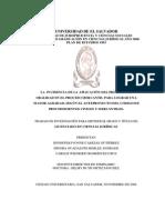 La incidencia de la aplicación tesis