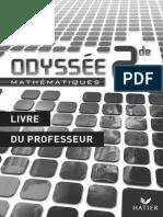 Odyssee 2de Livre Du Professeur Programme 2009