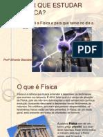 AULA INAUGURAL DE FÍSICA
