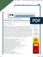 Edible Vaccine 1