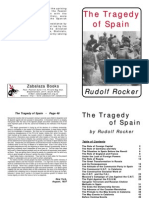 The Tragedy of Spain (by Rudolf Rocker)