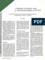 Geometry and Shielding Gas Interrelationships in GTAW = WJ_1980_12_s364