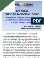 PDF AEP Fiscal RaciocinioLogico Introducao WeberCampos