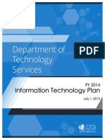 FY2014 Utah Department of Technology Services Information Technology Plan