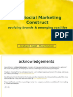 The Social Marketing Contract