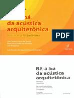 Bê-á-bá da acústica arquitetônica
