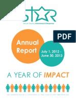 STAR Annual Report 2012-2013