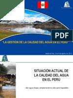 La Gestión de la Calidad del Agua en #Perú