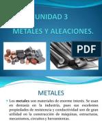 Metales y Aleaciones Unidad 3