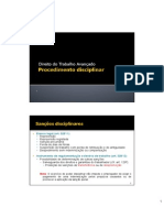 2012 - Mestrado - Procedimento Disciplinar.ppt