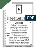 Diapositiva sobre diseño sismorresistente