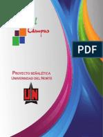 Manual proyecto señaletica Uninorte