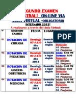13.Fechas de Examenes 2do.3ro.y 4to.internado 2013
