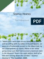 seamus heaney the underground