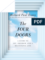 The Four Doors; A Guide to Joy, Freedom, and a Meaningful Life by Richard Paul Evans - Special Preview Excerpt!