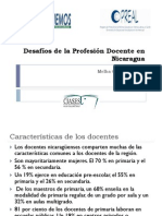 Analisis de Caso Nicaragua Sobre La Profesion Docente Ciases
