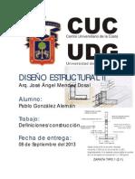 DEFINICIÓN diseño estructural 2