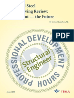 Structural Steel Shop Drawing Review, The Past and the Future