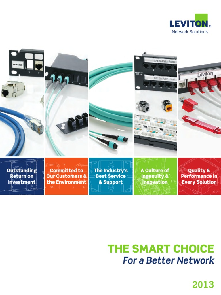 Awesome Leviton Network Solutions Images - Simple Wiring Diagram ...