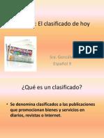 actividad clasificado subjuntivo