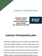 Kaedah Pengajaran & Pembelajaran Jawi