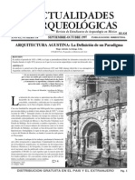 Actualidades Arqueológicas N° 14