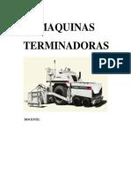 MAQUINAS TERMINADORAS DISERT